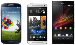 Samsung-Galaxy-S4-vs-Sony-Xperia-Z-vs-HTC One